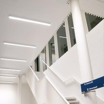 ROVASI GOWEL 300 have been installed in the Erasmus MC entrance in Rotterdam, The Netherlands