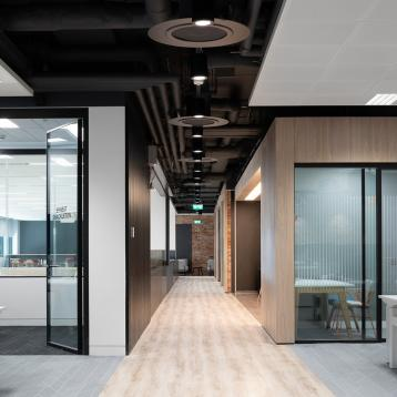 ROVASI lights up the Indeed Capital Dock Offices in Dublin, Ireland