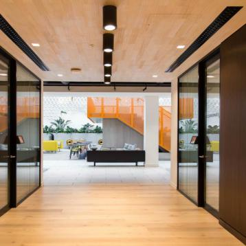 ROVASI lights up Indeed offices in Dublin