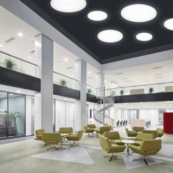Suggested applications: halls and atriums